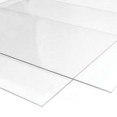 2x Extruded Acrylic Sheets Clear Perspex 1220 x 610 x 3mm Special Price
