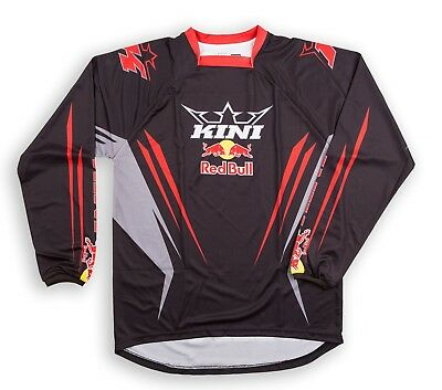 Kini Red Bull Competition Jersey Enduro Motocross Quad MX Shirt