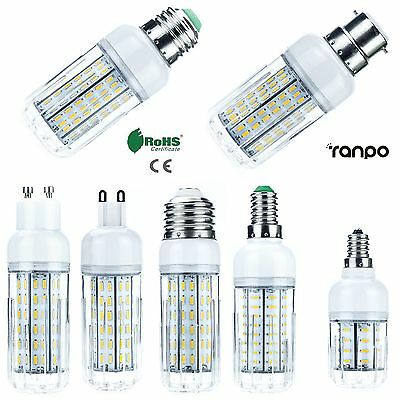 10W 20W 25W 30W LED Corn Bulbs E26 E27 E12 E14 G9 GU10 4014 SMD Light Lamp 220V