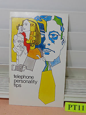 Vintage Southwestern Bell Telephone Personality Book Rare 1969 1960's