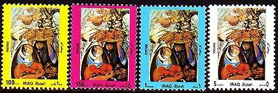Irak Iraq 1989 ** Mi.1455/58 Freimarken Definitives Frauen Women