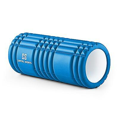 Set 12Trigger Point Rullo Massaggi Foam Roller Workout Allenamento Training Blu