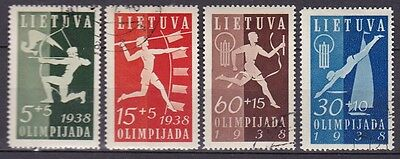 Lithuania 1938 Olympiad (36) Used