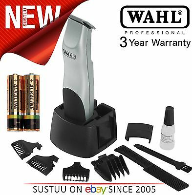 Wahl 9906-2017 Men's Facial Beard & Moustache Groomsman Cordless Battery Trimmer