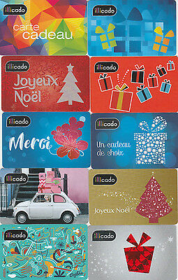 Carte Cadeau  Gift Card -  Illicado