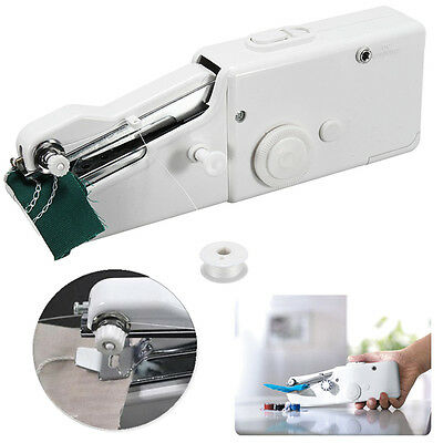 Portable Mini Household Single Stitch Electric Handheld Sewing Machine Home