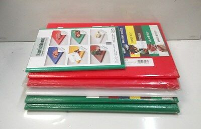 Job Lot 6 x Assorted Professional Catering Chopping Boards P4LY#