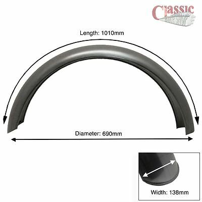 Rear Plain Steel Mudguard / Fender Ideal For bobbers , choppers, Hardtails