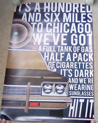 Blues Bros Poster.