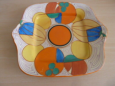 Stunning Clarice Cliff Large Melons Plate Must See