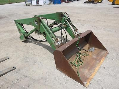 "John Deere 148 Loader With 60"" Bucket For Tractors, Fits Many Models     #62387"