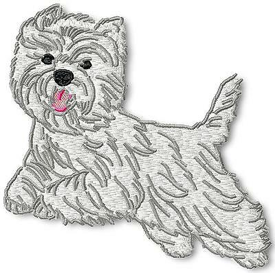 Realistic Terrier 10 Machine Embroidery Designs Cd 2 Sizes