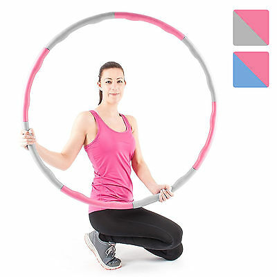 Proworks Weighted Hula Hoop | 1.2kg Padded Fitness Exercise Hoop for Adults Kids