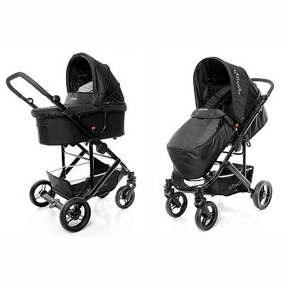 StrollAir Single Stroller CosmoS - Black