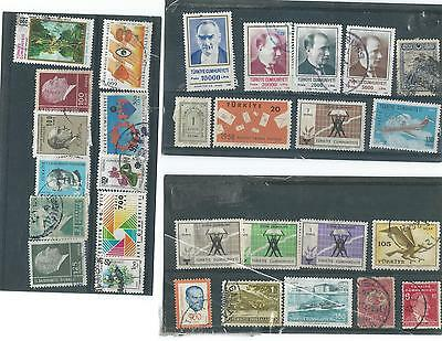 Turkey Used   Stamp Collection