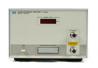Keysight / Agilent 8349B Solid State Microwave Amplifier, 2 GHz to 20 GHz