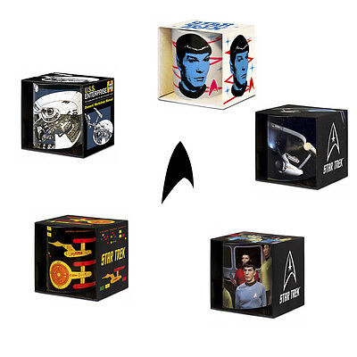 STAR TREK TASSE - Kirk Scotty Spock beame Weltall Crew Enterprise Raumschiff USS
