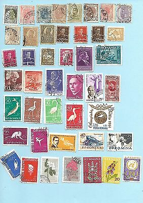 Romania Collection, Early to 1960s, Qty 44, used