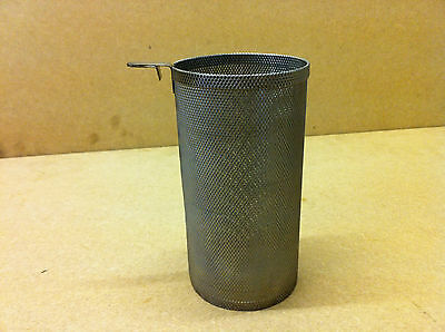 """Ex British Army Field Kitchen Large Stainless Steel Tea / Hop Infuser 6"""" x 2.75"""""""