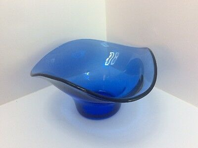 Beautiful Blue Glass Bowl