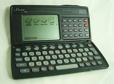 Psion Sienna - Vintage Pocket Computer PC Calculator