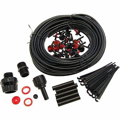 71Pc Micro Irrigation System Hanging Basket Watering Kit Set Drip Irrigation 23M