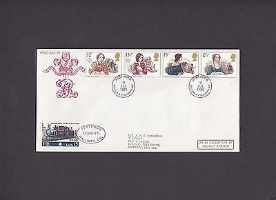 1980 Authoresses Festiniog Railway First Day Cover. 1 of only 2 covers.