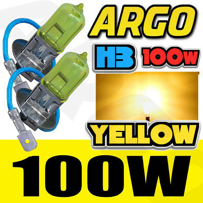 H3 100W Xenon Super Yellow Hid 453 Headlight Bulbs Fog Bright 12V Ice