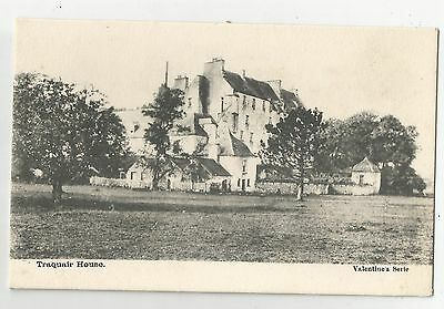 re scotland scottish postcard traquair house Innerleithen