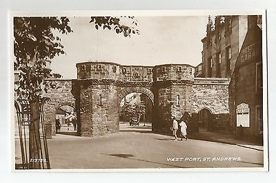 re scotland scottish postcard st andrews