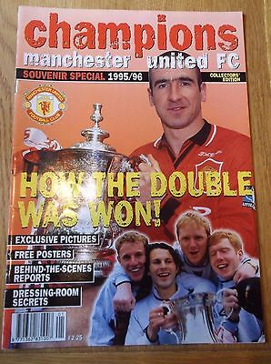 Manchester United 1996 Double Champions  Winners Special