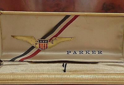 Antique Parker 51 First Edition Case Circa 1941 Great Vintage Condition,