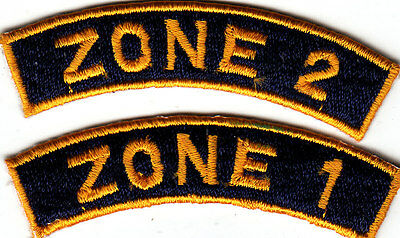 Boy Scout Badges ZONE 1 + 2 Malaysia