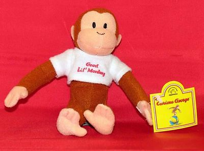 APPLAUSE CURIOUS GEORGE PLUSH STUFFED ANIMAL Good Monkey CHOICE Color TOY 8508