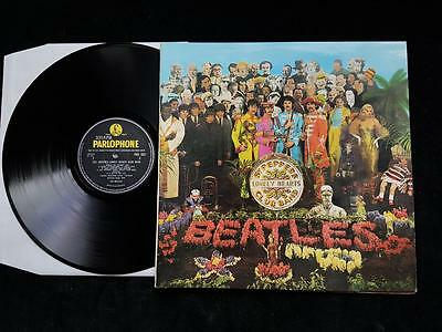 THE BEATLES Sgt.Peppers Lonely Hearts Club Band LP UK 1st MONO PMC 7027  EX+