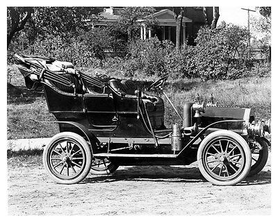 1908 REO Five Passenger Touring Car Factory Photo ub3687