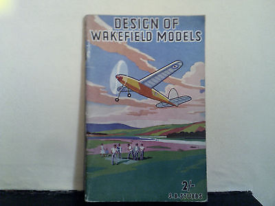 Design Of Wakefield Models - S.B. Stubbs 1941