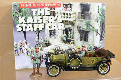 KING & COUNTRY FW013 WWI GERMAN ARMY The KAISERS STAFF CAR MINT BOXED nk