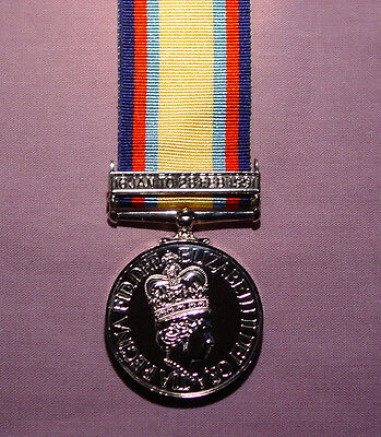 1992 Gulf War Medal With Clasp - Full Size Unnamed Replacement
