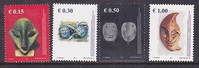 Kosovo 79-82 MNH 2007 Various Type of Masks Complete Set Very Fine