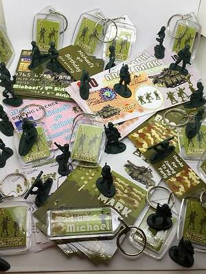 108 Items Party Loot Bag Fillers Boys Army Soldier Camouflage Theme *12 Kids*