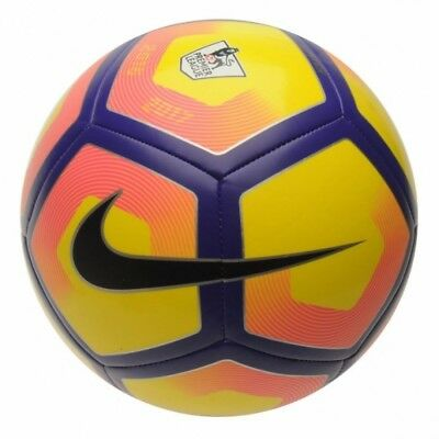 Nike Pitch Premier League Football 2017 Size 5 Yellow/Purple - Brand New!