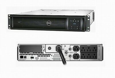 Dell APC SMART-UPS 3000VA 2700W 120V 2U Rack Mountable DLT3000RM2U