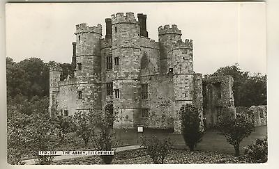 A Frith's Real Photo Post Card of The Abbey, Titchfield. Hampshire