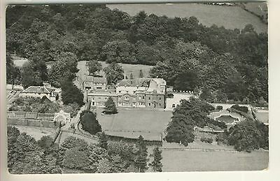 A Post Card of 'Eaves Hall from the air' West Yorkshire. Now Lancashire