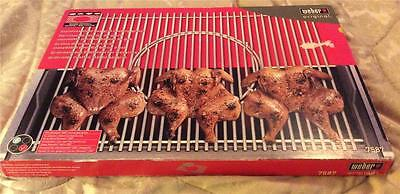 New In Box Weber 7587 Barbeque Cooking Grate Stainless Steel Genesis 300 Series