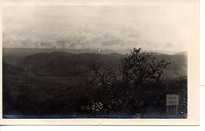 Great view from Fraser Hill, Pahang, Malaya.1933, cards