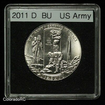 2011-D 50C U.S. Army Uncirculated Commemorative Half Dollar Coin