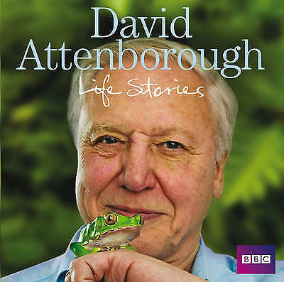 David Attenborough Life Stories by Sir David Attenborough (CD-Audio, 2009) NEW