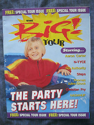 VINTAGE BIG! MAGAZINE SPECIAL TOUR ISSUE 1998. EAN: 9770959321082. Five,BSB,911.